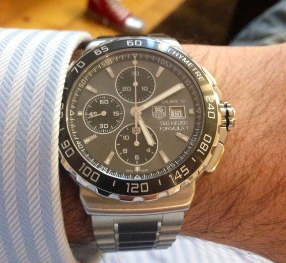 Like this a lot more than I expected- @tagheuer Formula 1 Calibre 16 http://t.co/hMcZayjQow