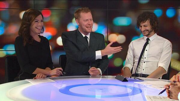 Thanks for coming on the show! You guys rock. Good luck with the tour #tenlate @gotye @the3basics http://t.co/SbGv9EY2Mw