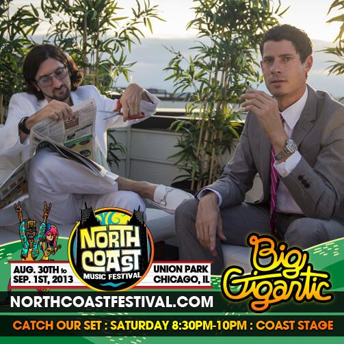 RT @BigGigantic: Sorry everyone! our REAL set time for @northcoastfest is 8:30-10pm on the Coast Stage! Let's do this!!!! http://t.co/brw3ZIOATk