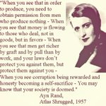 Ayn Rand's words from Atlas Shrugged perfectly suit for India's current position. Plz go thru it. http://t.co/g0tFaIixD8