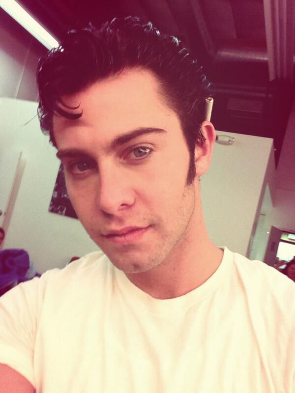 Seth Gamble (@SethGamblexxx): #grease @logan_gina :) http://t.co/QrevaKEmPG