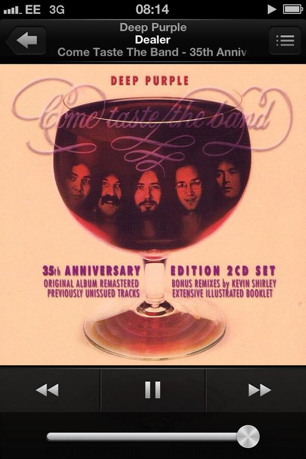 Underrated album. Tommy Bolin was a fine guitar player! 🎸🎵 http://t.co/vZf0v9VVPp