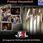 Tonight at 10 pm on DD National - Friday Houseful - we bring to you #Jail - directed by @mbhandarkar268 http://t.co/uktvrrBto1