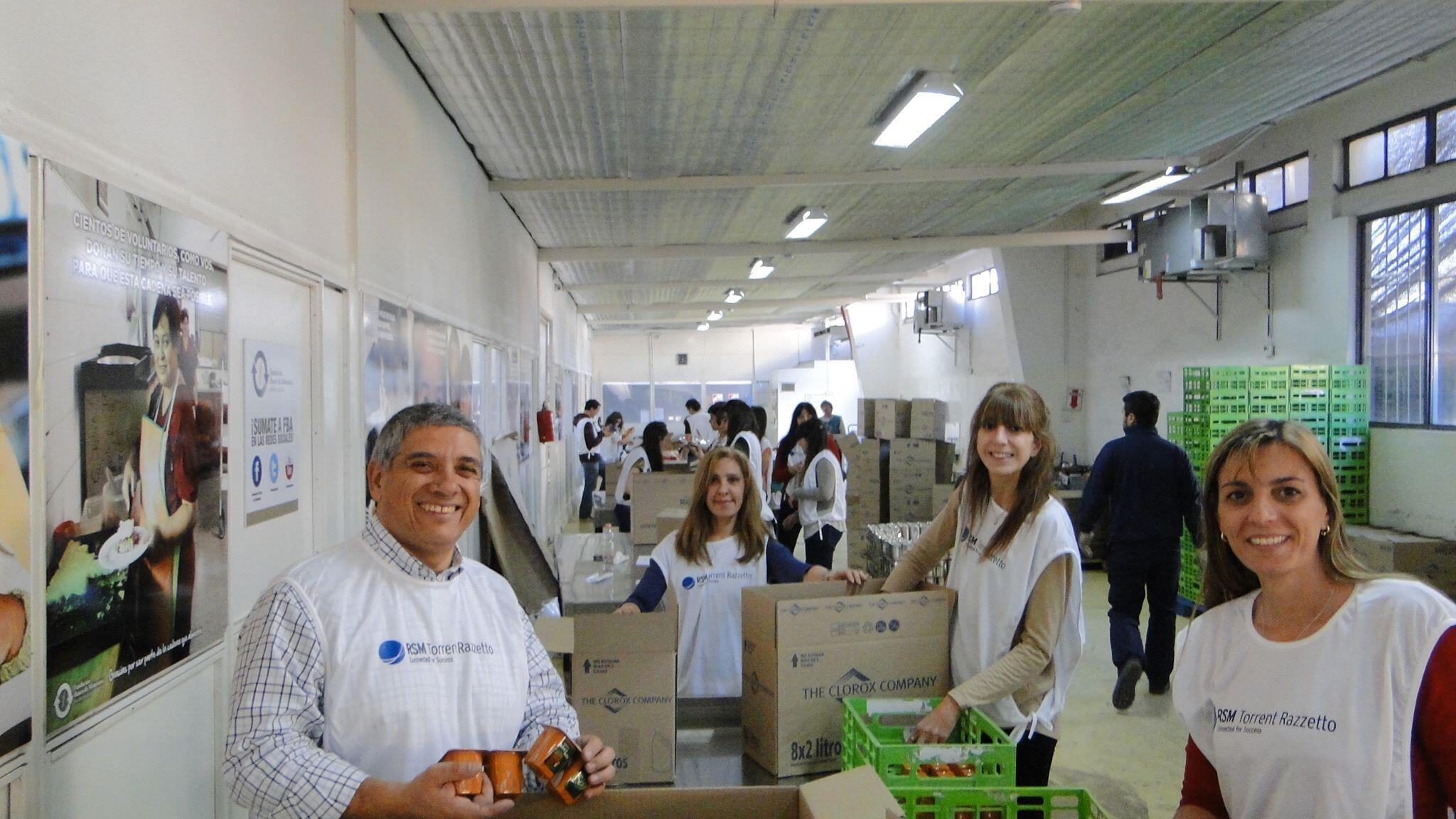 RT @RSMArgentina: Hoy estamos celebrando el RSM World Day colaborando con Banco de Alimentos @fundacionba http://t.co/zYQ5HyY9NZ
