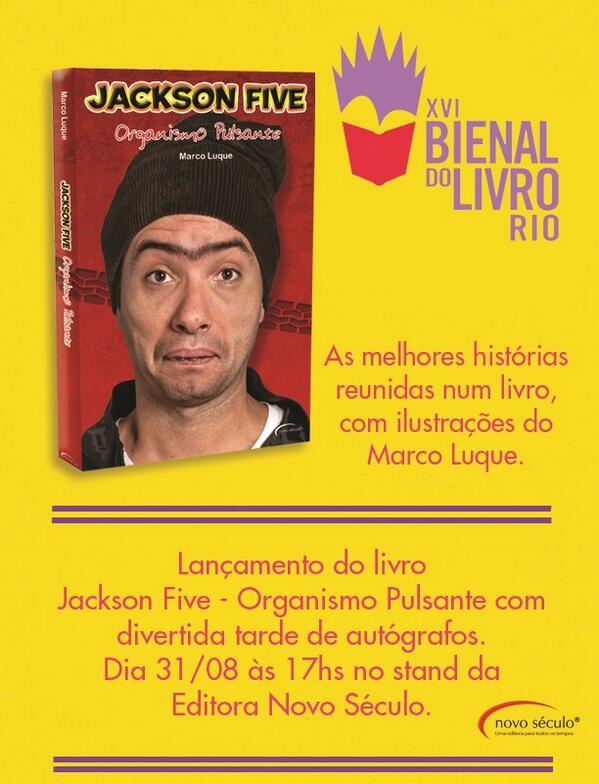 Rio de Janeiro! É neste sábado! Lançamento do livro #organismopulsante e sessão de autógrafos na @bienaldolivro: http://t.co/JzMIkiP19L