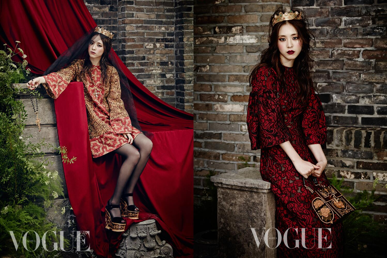 RT @SMTOWNGLOBAL: You can meet #LeeYeonHee who transformed into a queen in the September issue of Magazine 'Vogue Korea'! http://t.co/QGNVFNzigo