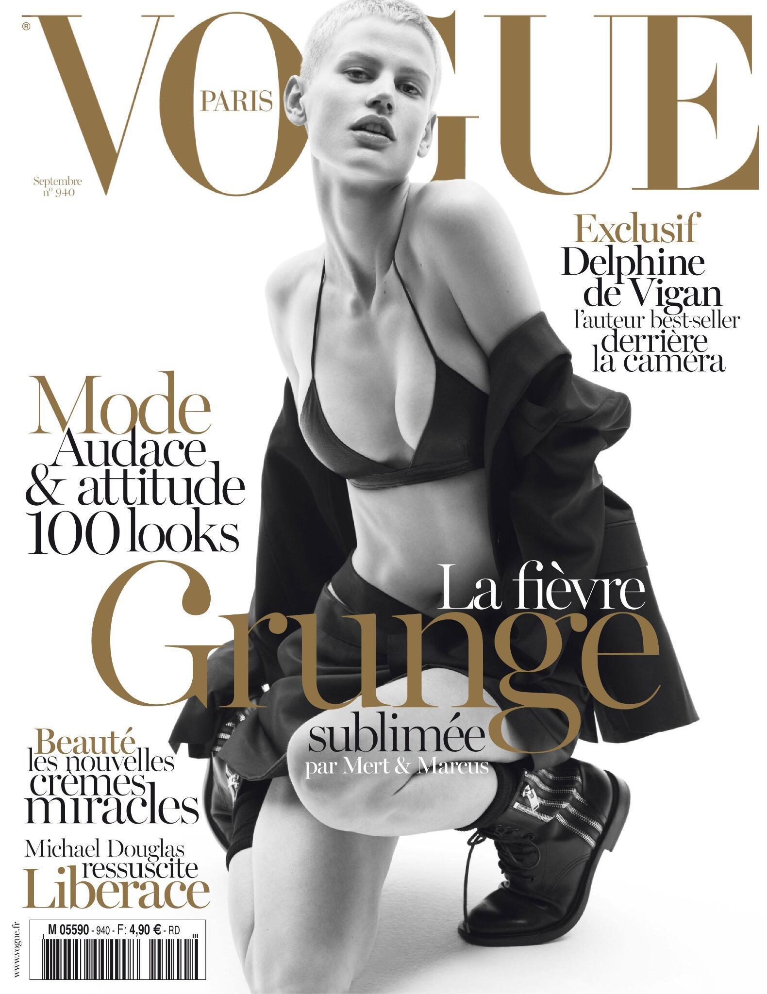 RT @YSL: SASKIA DE BRAUW COVERS THE SEPTEMBER ISSUE OF VOGUE PARIS IN SAINT LAURENT @VogueParis http://t.co/T2zS5tFVMH