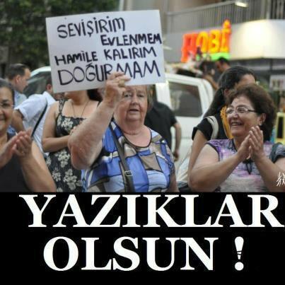 Erdoğan'ın 'kimsenin yaşam tarzına karışılmadı' demişti.