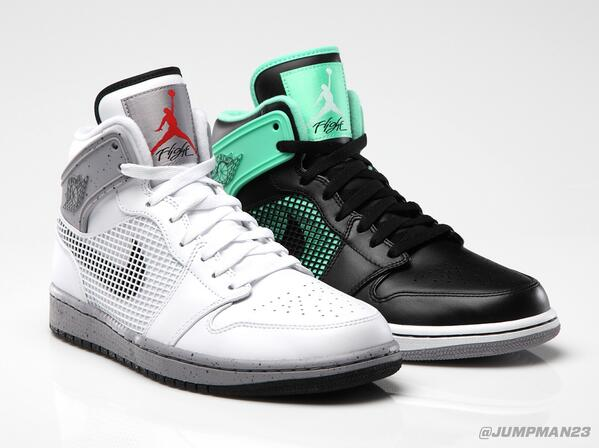 Is your kick game 'tried and true' or 'fresh and new'? Two new looks of the AJ 1 '89 drop on Saturday: http://t.co/9mFbrszXD1