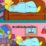 -Me encantan éstos sábados de flojera -Es Miércoles Homero http://t.co/jZcPenJmWM