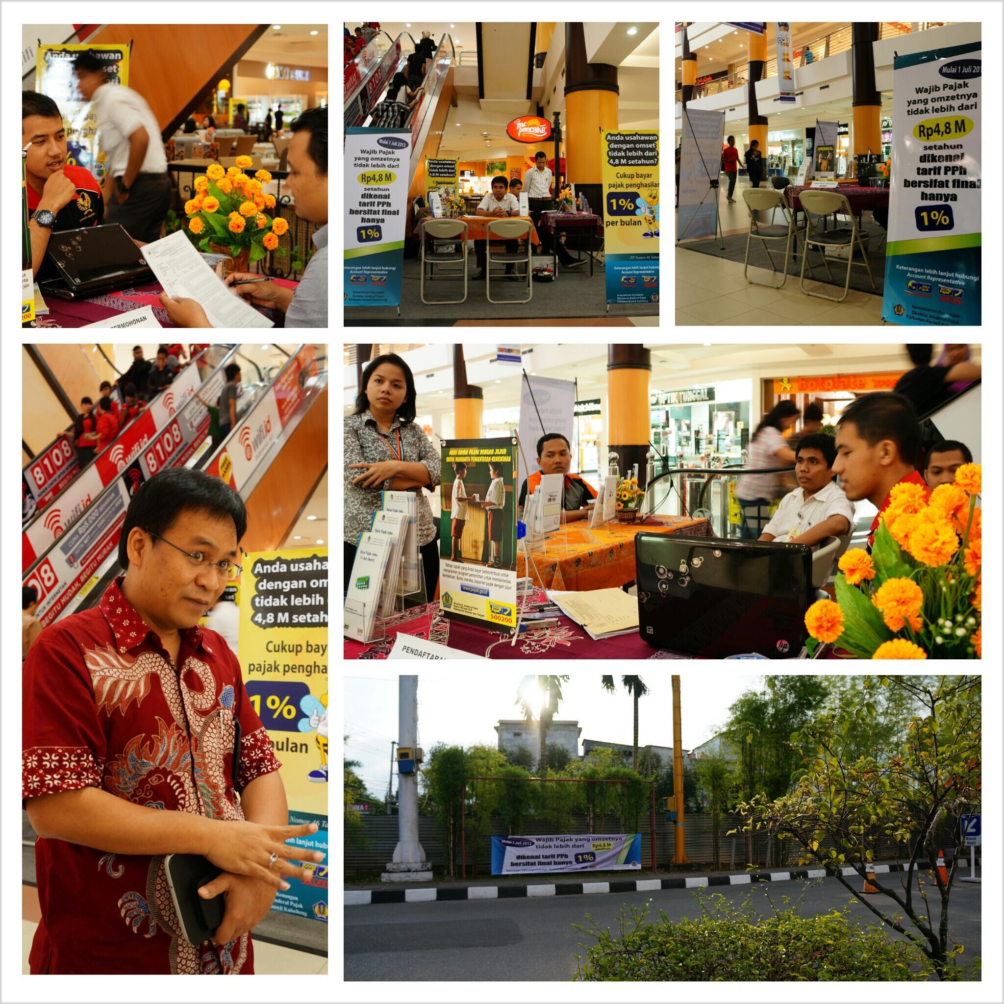 Selamat Datang di Pojok Pajak KPP Pratama Banjarmasin di Duta Mall Bjm  @PajakMania @DitjenPajakRI @mekars @PajakRI http://t.co/AisUljkEH5