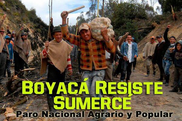 RT @MariafeCol: Apoyo a nuestros campesinos que con azadón y machete siembran un mejor futuro para toda la gente. @camiloromero http://t.co/9NJqxWYsBI