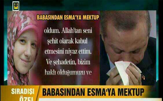 Bu gece Ülke Tv'de ağlayan Başbakan değil babamızdı resmen. http://t.co/BksMAmghA9
