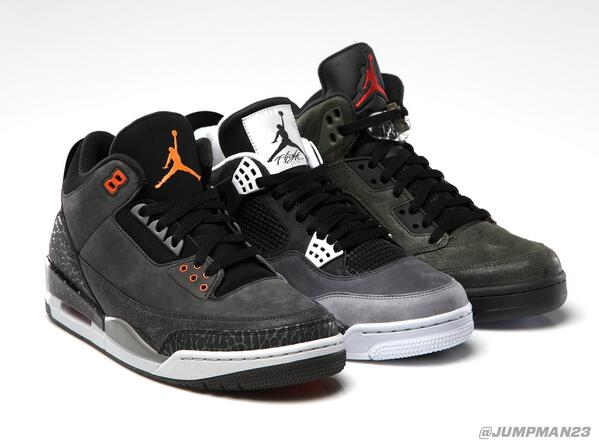 The best things come in threes (and 4s and 5s). 3 fresh Air Jordan colorways hit this Saturday: http://t.co/UOw85vCrP8