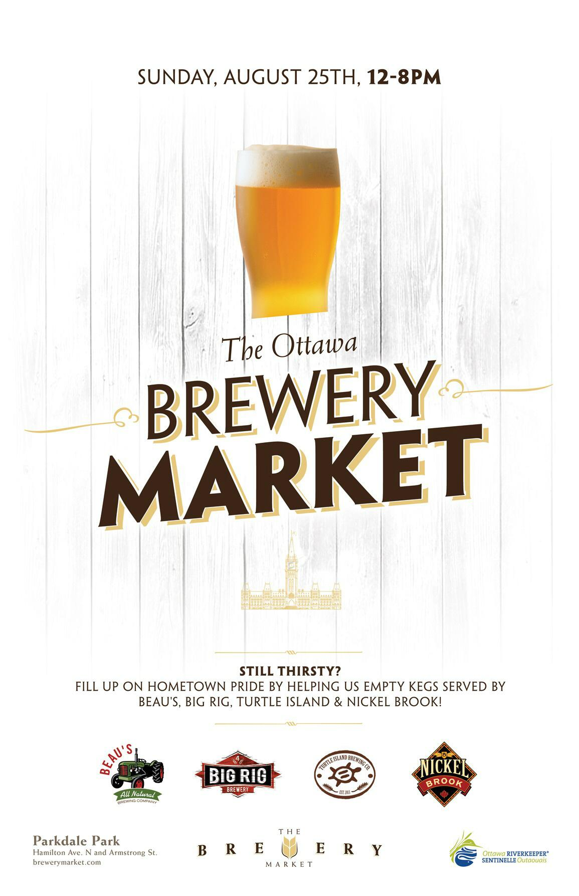 Which is to say, The Brewery Market returns Sunday, Aug 25. (Hey, that's this weekend!) http://t.co/KYSR1myuQT