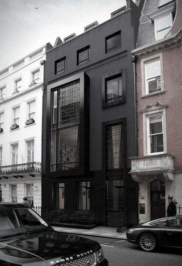 All black house - #NYC http://t.co/ETZnGEOBYs