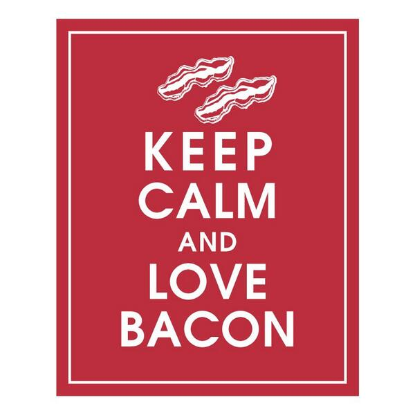 """RT @PaulFox13: Let me be the first to wish you a happy """"International Bacon Day"""" http://t.co/Cpx4vPEe6h"""