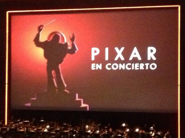 orville alvarado  (@OrvillealvaradO): El concierto de Pixar en el auditorio INCREÍBLE !!!!!! http://t.co/OY7cwVY9Jl