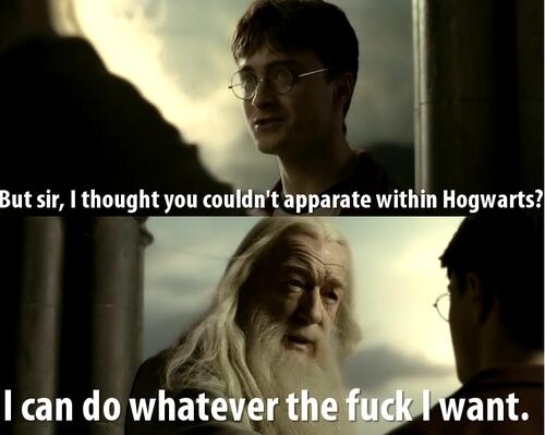 Never question Dumbledore. http://t.co/lz4aSWUMZ3