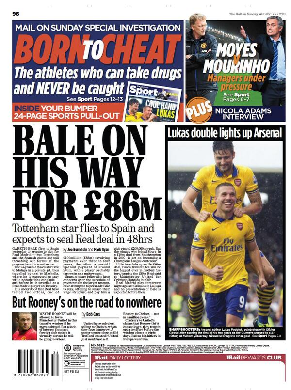 BSdk8nGCUAIIAcz Rooney is staying at Man United as Chelsea sign £2m Etoo in Willian deal [Mail & Telegraph]