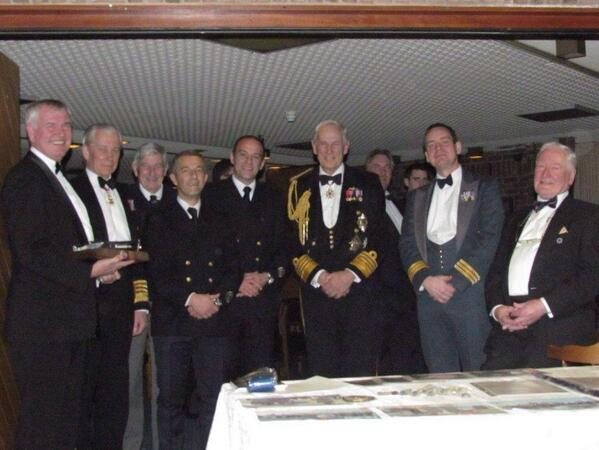 Global Relations: J. Werne & S. Malvestio (GOST) at the Channel Dash 70y Commemoration Dinner at RAF Base Manston http://t.co/CjqtAvZYQv