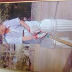 great photograph of the great prof d b deodhar. played first class cricket well into his fifties! http://t.co/8ZEiFcTOMF