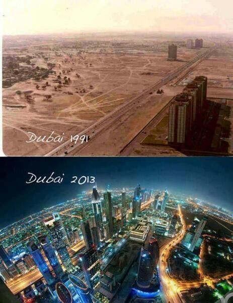 Dubai 1991/2013 http://t.co/FEkr3vYIhg