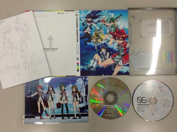 Blu-ray,DVD第6巻が本日発売です!遂に最終巻!!今回も特典が盛り沢山なので、是非チェックして下さい。再放送も終