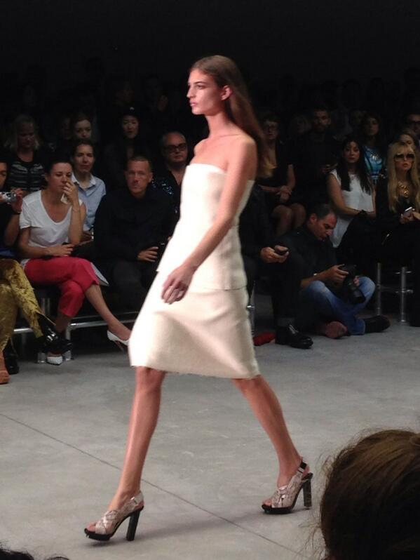 First look at #CalvinKlein #SS14 #NYFW http://t.co/y59m4sFQN3