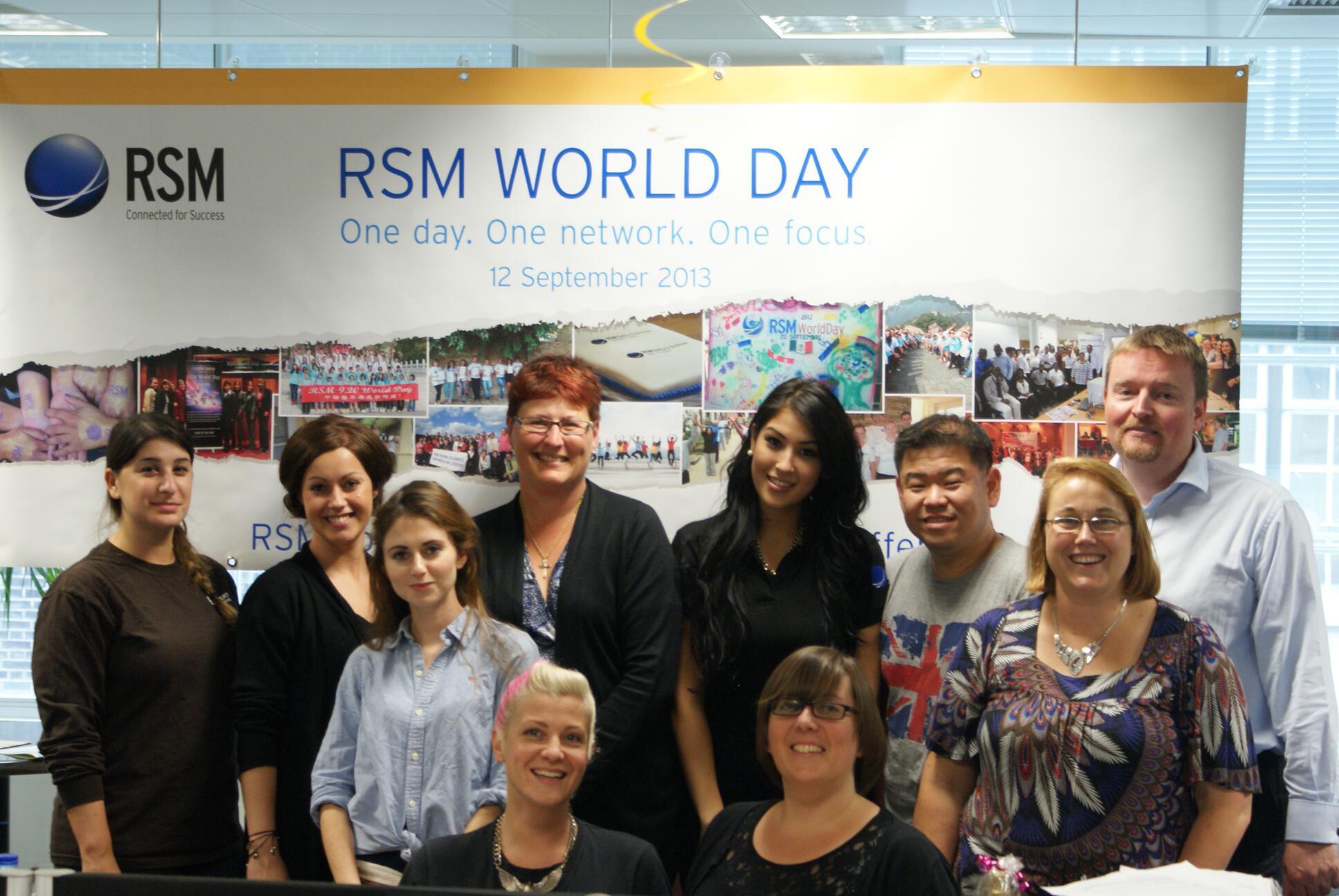 RSM Executive Office celebrating RSM World Day 2013 #rsmworldday http://t.co/rxs4sVuB24