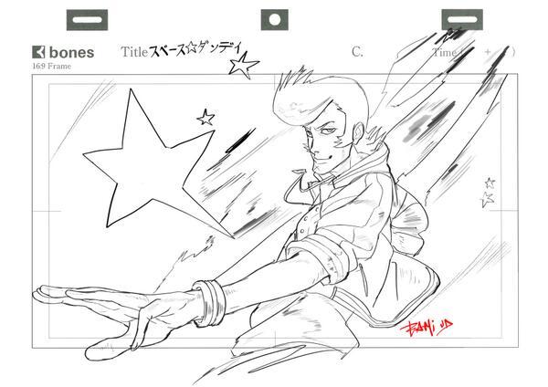 『スペース☆ダンディ』らくがき //   --
