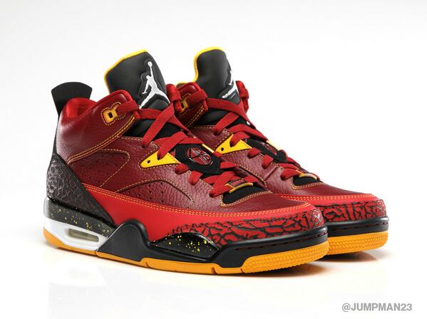 Iconic elements from our heritage get the 'Team Red/Uni Gold' treatment with our Son of Low release this Saturday: http://t.co/RvzDeBOzOk