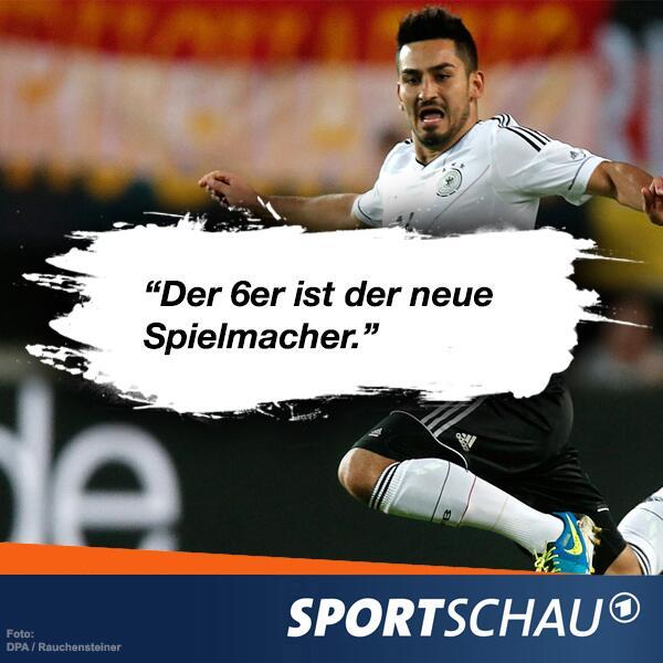 Gündogan im #SportschauClub über die Position des Sechsers: http://t.co/c0Zg7yvXVe