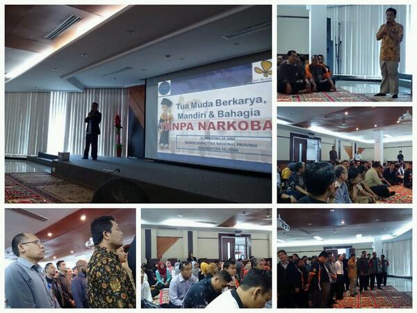 Sosialisasi Pencegahan Narkotika Kanwil DJP Kalselteng oleh BNN Prov. Kalsel... @DitjenPajakRI @PajakMania @mekars http://t.co/Iyvr3mg4IN