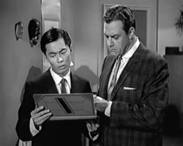"It's ""Throwback Thursday""--this is a thing, no? Here is a shot of me in Perry Mason, ""The Case of the Blushing Pe... http://t.co/49rSA1mCgi"