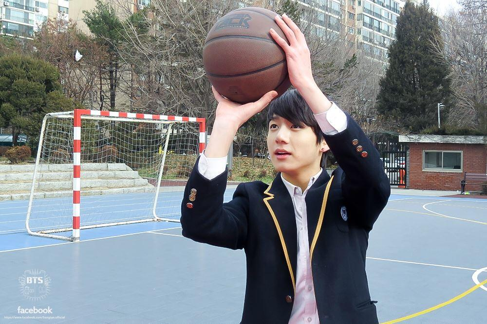 Image result for jungkook play badminton