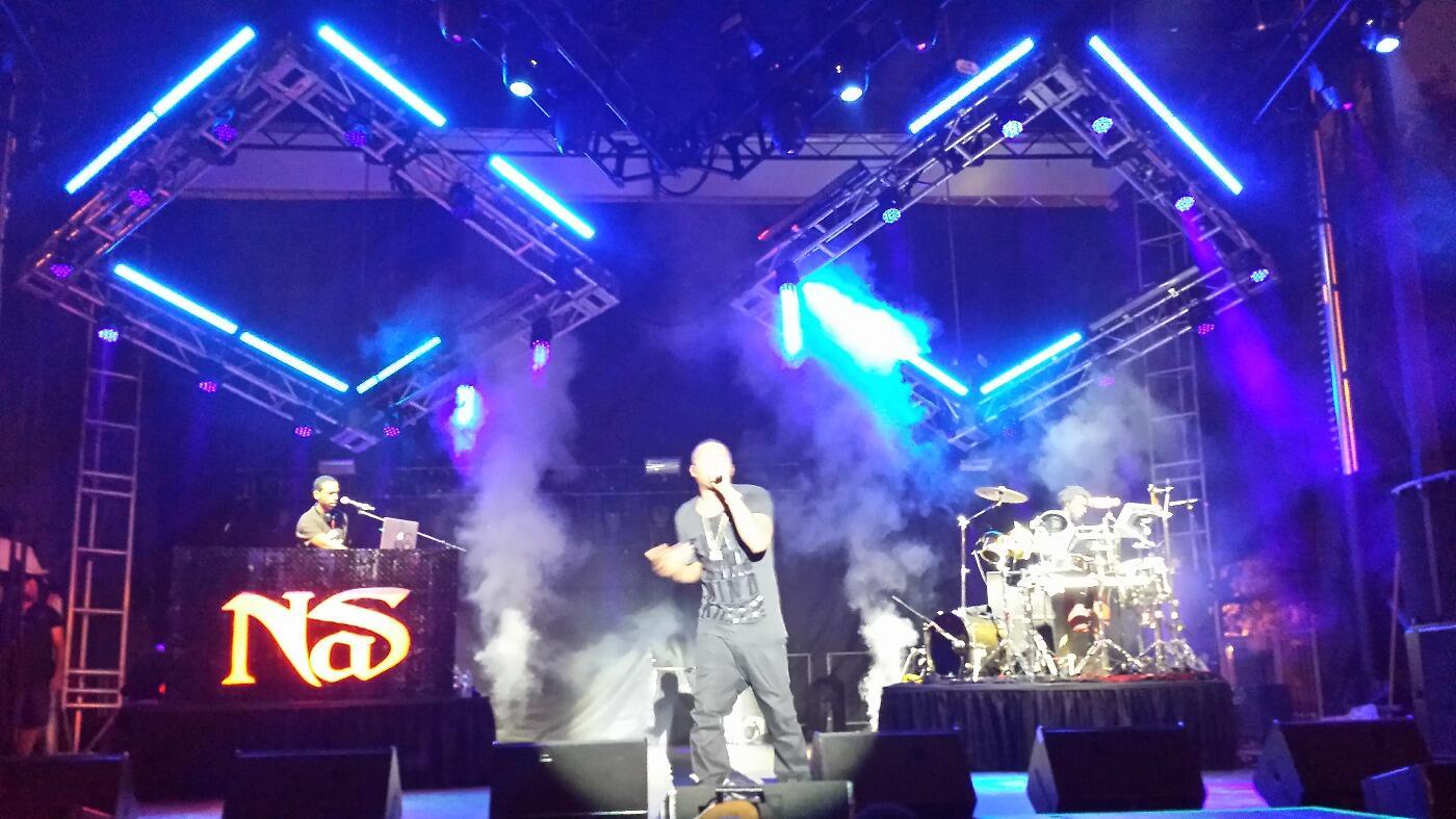 @Nas - Live at #NCMF | @northcoastfest http://t.co/3dvYVUhG9W