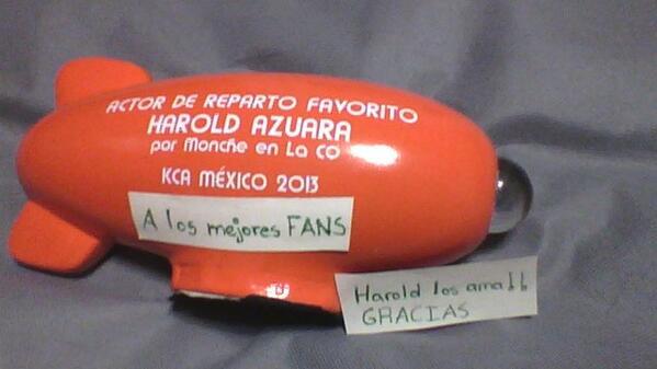 harold azuara (@haroldazuara): Esto es de ustedes!! Muchas gracias :') http://t.co/ydNNTrf3mb