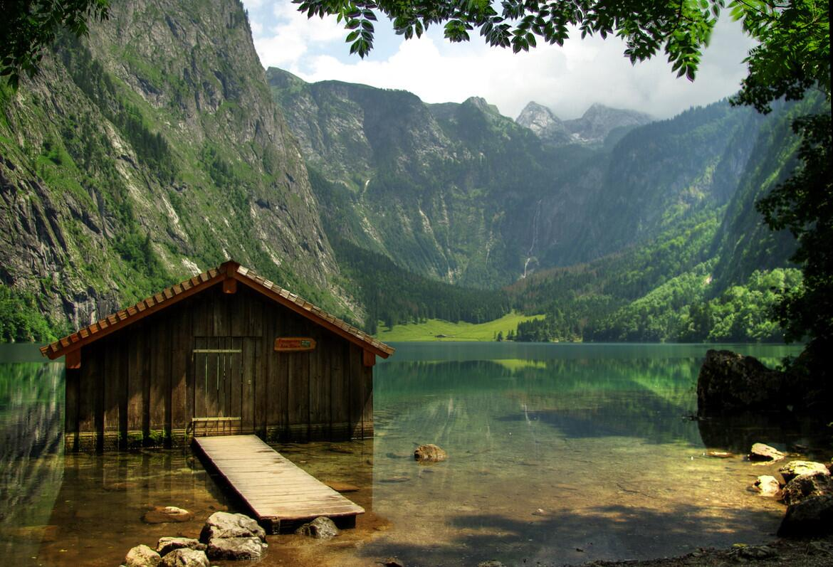 Obersee Lake, Germany http://t.co/KHGtDhuIdW