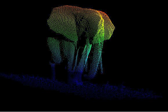 RT @SimonLLewis: We took a laser-scanner (LiDAR) to Gabon as new way of measuring trees. We accidentally shot this: http://t.co/fRSBMYXx6b