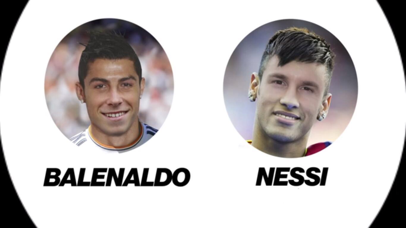 Vídeo: Ronaldo & Bale vs Messi & Neymar: Balenaldo vs Nessi http://t.co/paBLwHHtut http://t.co/Op5bx4vrj0