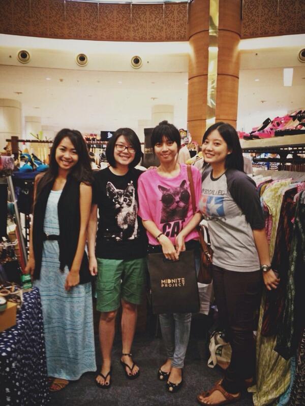 Thank you @midniteproject bazaarnya cc @leonyvh @vhcynthia di summarecon mall serpong 2, barangnya keren2
