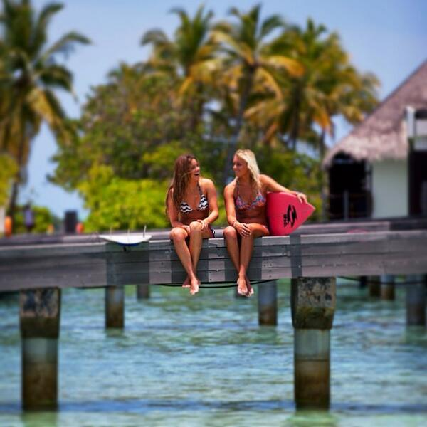 Surfing is fun, but it's funnier when you do it with your friends! #SurferGirlsOnly http://t.co/zHQJeGGBJE