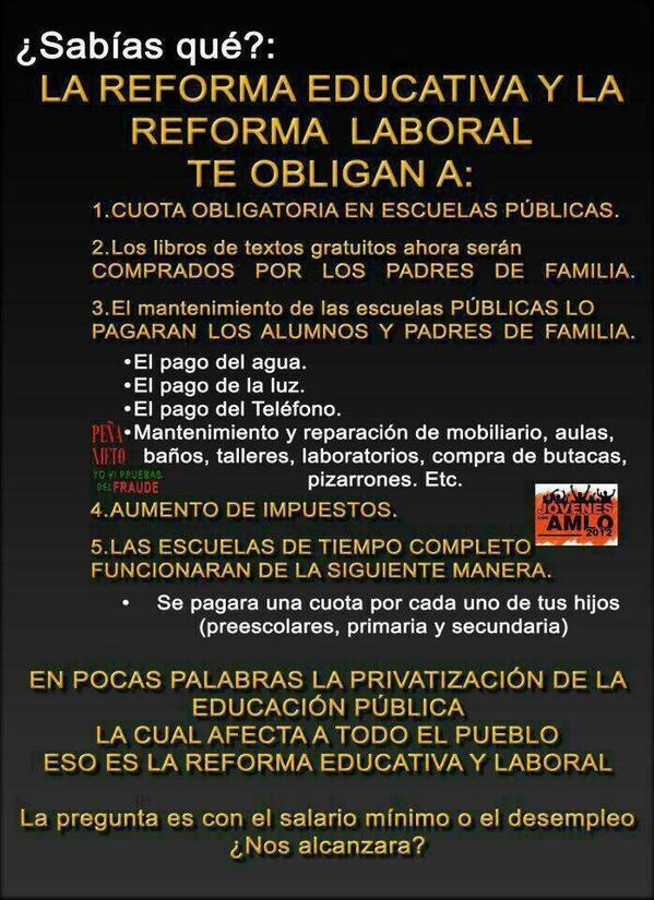 RT @angel_guar: ¿Te molestan las marchas de la #CNTE? ...Entonces esto te encantara!! http://t.co/33DxRPOocV vía @Zorroanonym   #RenunciaPeñaNieto