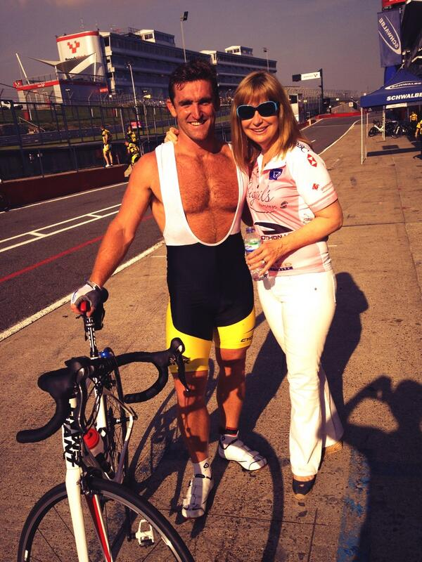 RT @Huw_Bennett: Nice to have our official weather reporter @SianWeather bringing the sun with her today for @CyclothonUK ☀🚴👍 http://t.co/lNu8yegX52