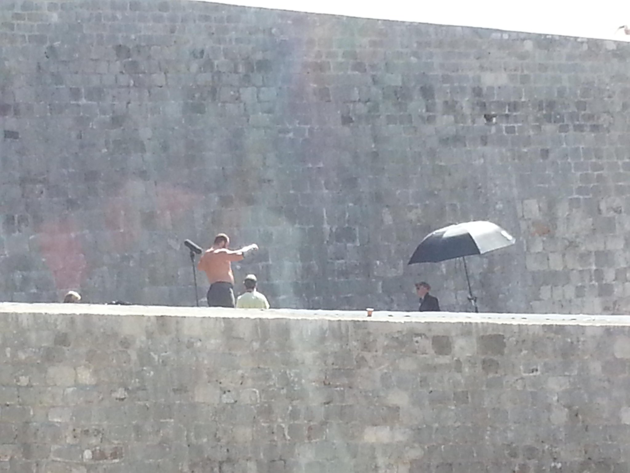 RT @Bautovic: @GameOfThrones #filming in #dubrovnik croatia .Huge guy practice with sword Can't wait for #GameOfThrones 4th season! http://t.co/Y505lkUUNO