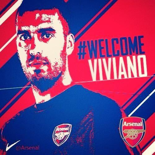 RT @EmilianoViviano: Hello everybody!! Come on #Gunners !! @Arsenal http://t.co/P94zcae609