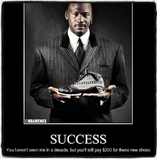 When you know you have achieved success! #MJEdition #GOAT http://t.co/nYP6fKdJSZ