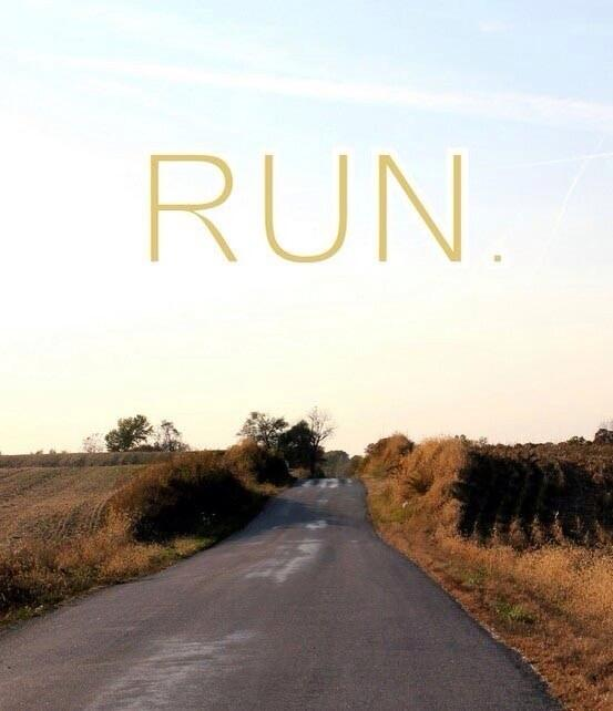 """Sometimes it is just as simple as """"Run"""" http://t.co/VHZoLVsnpA"""