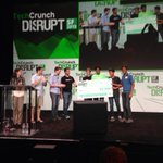 Congrats Spruce team for winning Best Techcrunch Disrupt hack AND Best Evernote hack at #TCDisrupt http://t.co/gbbiyRRKFx